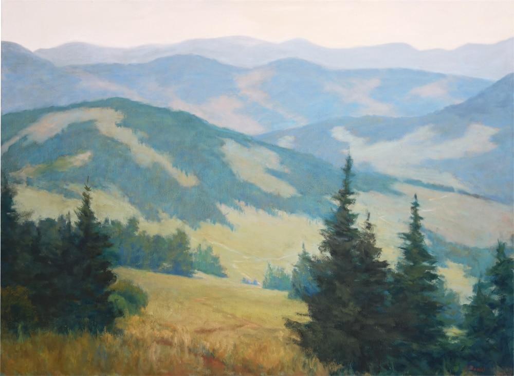Arlene Daniel Artist - Mountain Trail 2100