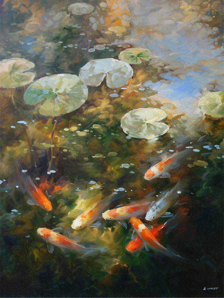HARVEY - Koi Painting