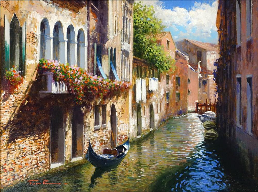 RAFFAELE FIORE - Venetian Summer 12 x 16