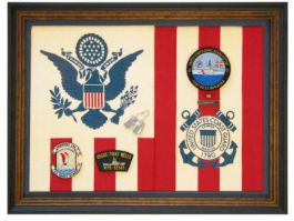 Coast Guard Flag and Patches