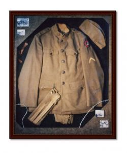Solider's Uniform: Shadowbox