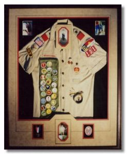 Boy Scout Uniform - Shadowbox